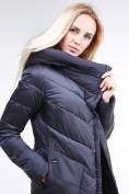 Оптом Куртка зимняя женская классическая темно-серого цвета 9102_29TС в Казани, фото 7