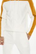 Оптом Спортивный костюм трикотажный белого цвета 9122Bl, фото 11
