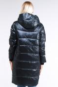 Оптом Куртка зимняя женская молодежная темно-зеленого цвета 9131_03TZ в Казани, фото 5