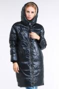 Оптом Куртка зимняя женская молодежная темно-зеленого цвета 9131_03TZ в Казани, фото 6