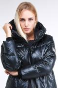 Оптом Куртка зимняя женская молодежная темно-зеленого цвета 9131_03TZ в Казани, фото 8