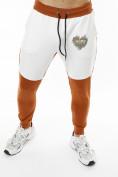 Оптом Спортивный костюм трикотажный коричневого цвета 9150K, фото 11