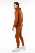 Оптом Спортивный костюм трикотажный коричневого цвета 9150K, фото 3