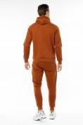 Оптом Спортивный костюм трикотажный коричневого цвета 9150K, фото 4