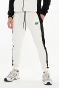 Оптом Спортивный костюм трикотажный белого цвета 9154Bl, фото 7