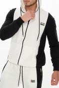 Оптом Спортивный костюм трикотажный белого цвета 9154Bl, фото 9