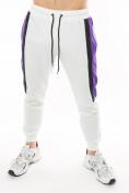 Оптом Спортивный костюм трикотажный белого цвета 9157Bl, фото 9