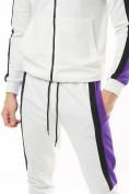 Оптом Спортивный костюм трикотажный белого цвета 9157Bl, фото 10
