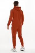 Оптом Спортивный костюм трикотажный оранжевого цвета 9159O, фото 3