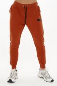 Оптом Спортивный костюм трикотажный оранжевого цвета 9159O, фото 5