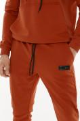 Оптом Спортивный костюм трикотажный оранжевого цвета 9159O, фото 6