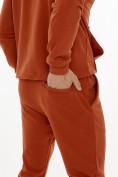 Оптом Спортивный костюм трикотажный оранжевого цвета 9159O, фото 8
