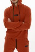 Оптом Спортивный костюм трикотажный оранжевого цвета 9159O, фото 9