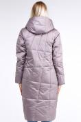 Оптом Куртка зимняя женская молодежная стеганная бежевого цвета 9163_12B в Казани, фото 4