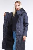 Оптом Куртка зимняя женская молодежная стеганная темно-серого цвета 9163_29TC в Казани, фото 6