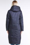 Оптом Куртка зимняя женская молодежная стеганная темно-серого цвета 9163_29TC в Казани, фото 4