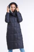 Оптом Куртка зимняя женская молодежная стеганная темно-серого цвета 9163_29TC в Нижнем Новгороде, фото 5
