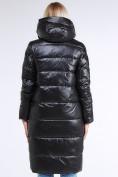 Оптом Куртка зимняя женская молодежное черного цвета 9175_01Ch в Казани, фото 7