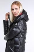 Оптом Куртка зимняя женская молодежное черного цвета 9175_01Ch в Казани, фото 9