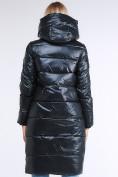 Оптом Куртка зимняя женская молодежное темно-серого цвета 9175_03TC в  Красноярске, фото 5