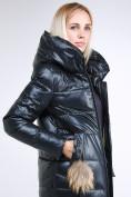 Оптом Куртка зимняя женская молодежное темно-серого цвета 9175_03TC в  Красноярске, фото 8
