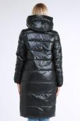 Оптом Куртка зимняя женская молодежное темно-зеленого цвета 9175_13TZ в  Красноярске, фото 5