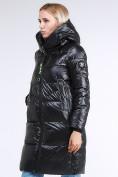 Оптом Куртка зимняя женская молодежная черного цвета 9179_01Ch в Казани, фото 2