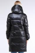 Оптом Куртка зимняя женская молодежная черного цвета 9179_01Ch в Казани, фото 3