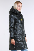 Оптом Куртка зимняя женская молодежная черного цвета 9179_03TC в Казани, фото 3
