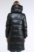 Оптом Куртка зимняя женская молодежная черного цвета 9179_03TC в Казани, фото 5