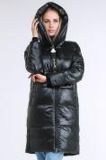 Оптом Куртка зимняя женская молодежная черного цвета 9179_03TC в Казани, фото 6
