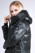 Оптом Куртка зимняя женская молодежная черного цвета 9179_03TC в Казани, фото 8