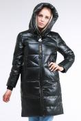 Оптом Куртка зимняя женская молодежная темно-зеленого цвета 9179_13TZ в  Красноярске, фото 6