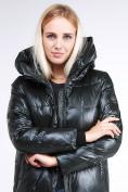 Оптом Куртка зимняя женская молодежная темно-зеленого цвета 9179_13TZ в  Красноярске