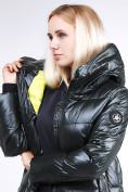Оптом Куртка зимняя женская молодежная темно-зеленого цвета 9179_13TZ в  Красноярске, фото 7