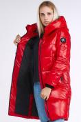 Оптом Куртка зимняя женская молодежная красного цвета 9179_14Kr в Нижнем Новгороде, фото 2