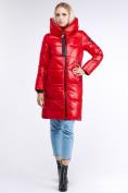 Оптом Куртка зимняя женская молодежная красного цвета 9179_14Kr в Нижнем Новгороде