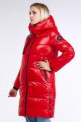 Оптом Куртка зимняя женская молодежная красного цвета 9179_14Kr в Нижнем Новгороде, фото 4