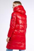 Оптом Куртка зимняя женская молодежная красного цвета 9179_14Kr в Нижнем Новгороде, фото 5