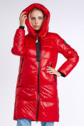 Оптом Куртка зимняя женская молодежная красного цвета 9179_14Kr в Нижнем Новгороде, фото 6
