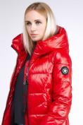 Оптом Куртка зимняя женская молодежная красного цвета 9179_14Kr в Нижнем Новгороде, фото 7