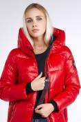 Оптом Куртка зимняя женская молодежная красного цвета 9179_14Kr в Нижнем Новгороде, фото 8