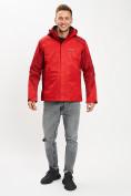 Оптом Куртка демисезонная 3 в 1красного цвета 93213Kr в Екатеринбурге, фото 15