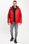 Оптом Куртка демисезонная 3 в 1красного цвета 93213Kr в Екатеринбурге, фото 2