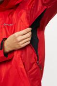 Оптом Куртка демисезонная 3 в 1красного цвета 93213Kr в Екатеринбурге, фото 11