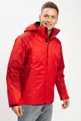 Оптом Куртка демисезонная 3 в 1красного цвета 93213Kr в Екатеринбурге, фото 13