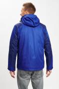 Оптом Куртка демисезонная 3 в 1 синего цвета 93213S в Екатеринбурге, фото 8
