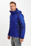 Оптом Куртка демисезонная 3 в 1 синего цвета 93213S в Екатеринбурге, фото 7