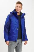 Оптом Куртка демисезонная 3 в 1 синего цвета 93213S в Екатеринбурге, фото 6