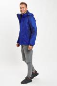Оптом Куртка демисезонная 3 в 1 синего цвета 93213S в Екатеринбурге, фото 2
